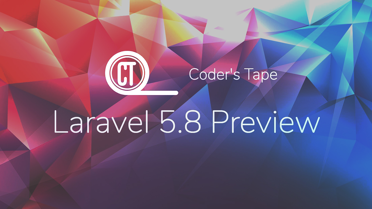 Laravel 5.8 is still under development but today, we are doing a Laravel 5.8 What's New Preview on what's to come when it gets released.